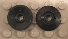 LEGO - Parts: Wheel - Train Wheel Small (X2) - Black