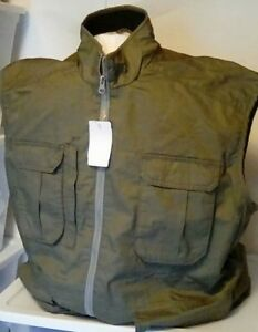 NEW RedHead Men's Twill 7 Pocket Fishing Vest Size Large