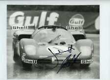 Jacky Ickx & Jackie Oliver Ferrari 512 S BOAC 1000 Km's 1970 Signed Photograph 2