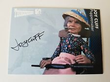 Unstoppable Cards Thunderbirds 50th Anniversary Joy Cuff Autograph Card