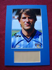 Bob Latchford Coventry City Genuine Signed A4 Mounted Photo Display- Proof Coa