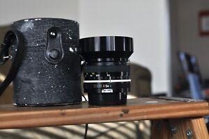 Nikon Nikkor 20mm F4 lens for Nikon F