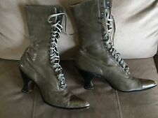 Vintage Pair of Womens Victorian Boots Size 7