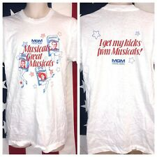 Vintage Mgm Home Video Judy Garland Gene Kelly Leslie Caron T-Shirt L Usa /50