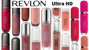 Revlon Ultra HD Matte, Hyper Matte, Metallic Or High Shine Lip Color Brand New