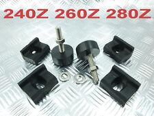 Hood Rubber Stop Bumpers X4  / Adjust Bumpers X2 DATSUN FAIRLADY 240Z 260Z 280Z
