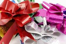 WHOLESALE A Lot Metallic Pull Flower Ribbons Gift Wraps