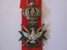 German WWI Saxe-Weimar Order of the White Falcon Knight with Swords 1918