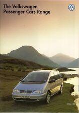 Volkswagen 1995-96 UK Market Brochure Polo Golf Vento Passat Corrado Sharan