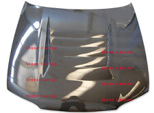 Carbon Fiber Hood Bonnet Vented Fit For Nissan R33 GTR