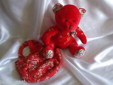 Doudou ours et son sac, Inès 2006, Nocibé