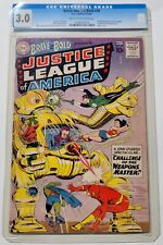 The Brave and the Bold #29 Justice League of America (DC, 1960) CGC G/VG 3.0