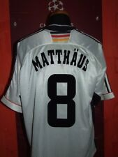 MATTHAUS GERMANY WC 1998 MAGLIA SHIRT CALCIO FOOTBALL MAILLOT JERSEY CAMISETA.