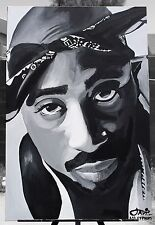 2PAC Painting ( BEAUTIFUL  INSPIRING  PIECE )