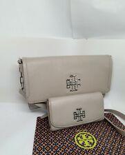 Tory Burch Medium Britten Shoulder Crossbody Bag And Wallet Leather