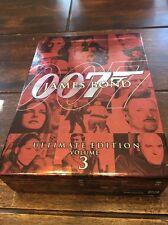 James Bond Ultimate Edition - Vol. 3 (DVD, 2009, 10-Disc Set)