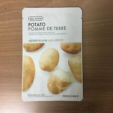 1SHEET THE FACE SHOP REAL NATURE POTATO SOOTHING FACE MASK PACK