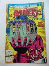 THE AVENGERS ANNUAL  #17  (1988)  9.4 NM SIGNED BY WALT SIMONSON