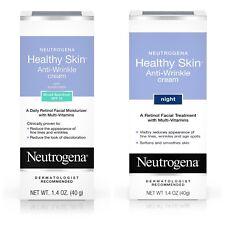 Neutrogena Healthy Skin Face Lotion and Anti-Wrinkle Night Cream