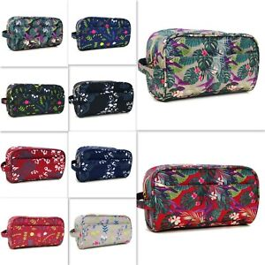 LADIES COSMETIC BAG MAKEUP CASE TRAVEL TOILETRY WASH BAG BEAUTY HOLDER CLEARANCE
