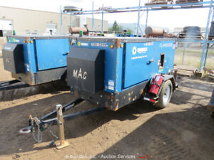 "2015 MAC 550F 450,000 BTU Towable Flameless Heater 12"" Ducts Diesel bidadoo"