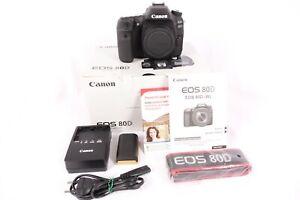 Canon EOS 80D Kamera 291 Auslöser - wie neu - MwSt.