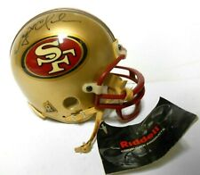 Dwight Clark Signed Autographed Vintage MINI Football Helmet SF 49ers The Catch