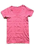 Free Shipping Lululemon Run Swiftly Short Sleeve Shirt Sz 8 Pink EUC