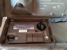 Strahlenmessgerät  Geigerzähler Dosimeter SV 500 Bundswehr