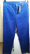 "Para hombre/niños De 176 cm de terciopelo azul real Fit Pantalones/Jeans ""POLO RALPH LAUREN"" 160/68"