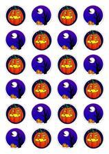 24 Halloween Stand Up Magdalena Hada Cake Toppers Comestibles Decoraciones De Papel De Arroz