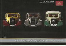 Infoblatt CMC Nr.M-169-171 Mercedes Benz  LKW LO 2750 1933-36 M.1:18