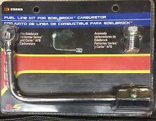 Fuel Line Kit for Edelbrock performer series & Carter AFB Carburetors by Spectre