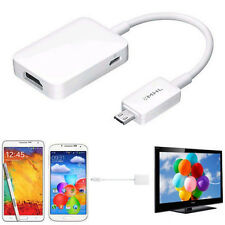 Micro USB MHL 2.0 To HDMI HDTV Adapter Cable for Samsung Galaxy S3 S4 S5 Note 2