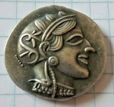Greek ttica Athens Tetradrachm Athena Olive Spray A.O.E Repro Replica