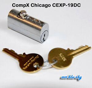 CompX Chicago Fire File Cabinet Lock CEXP-19DC