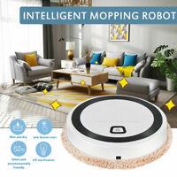 3in1 Auto Rechargeable Smart Robot Vacuum Dry/Wet Floor Mop Sweep Cleaner C7W2