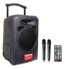 BOX AMPLIFICATO CON LETTORE DVD, USB E 2 RADIOMICROFONI BM892 KARMA
