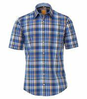 Redmond - Modern Fit - Herren kurzarm Hemd mit kent Kragen  (93400990)