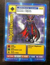 BANDAI DIGIMON 1999 - CARD Bo-38 Myotismon 1st Edition