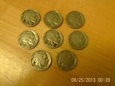 Nickels from 1936 1936 Indain head/Buffalo