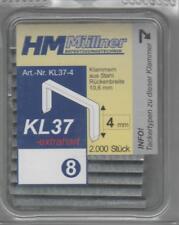 HM Müllner 2000 Tacker - Klammern 4 mm KL 37 ,Novus , Esco ,Rpid usw