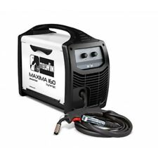 TELWIN MAXIMA 160 MIG/MAG/FLUX sinergico gasless DIGITAL INVERTER SALDATORE SALDATURA
