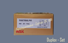 Nsk 7010ctrdulp4y Abec 7 Super Precision Spindle Bearings Set Of Two
