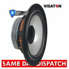 """Home Audio Speaker Cone 8"""" Subwoofer/Woofer Components"""