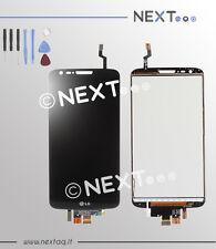 Schermo Display Vetro Touch screen LG Optimus G2 nero D802 + kit riparazione