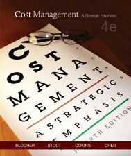 Cost Management: A Strategic Emphasis (4th Edition) by Edward Blocher, David E.