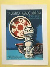 Puerto Rico 1991, Escalante Rivera, Pasado Indigena, serigrafia firmada 307/400