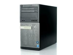 DELL OPTIPLEX 9020 MT CORE i7-4790 3.60GHz | 8GB | 2 x1TB | DVDRW | Win10Pro