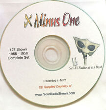 X Minus One 1 CD-Old Time Radio Shows-Science Fiction Collectors 1955-1958